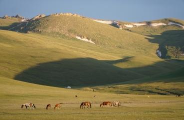kirgizja jedwabny szlak trasa