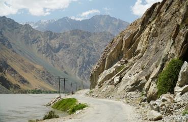 trasa pamirska tadżykistan azja motocykle wyprawa
