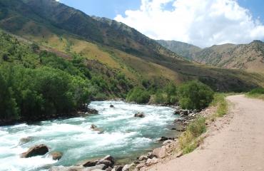 Podroze motocyklowe Kirgizja
