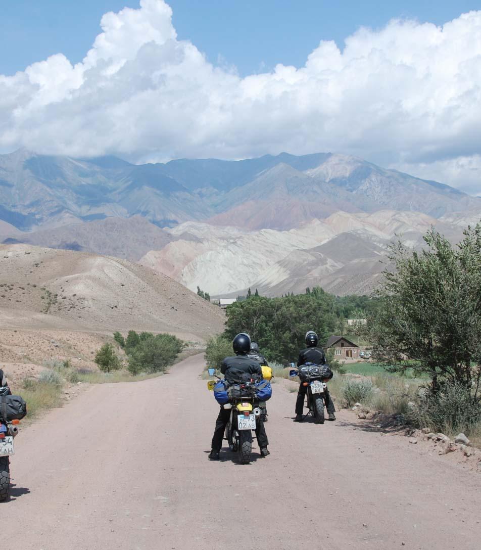 Kirgistan podroze motocyklowe