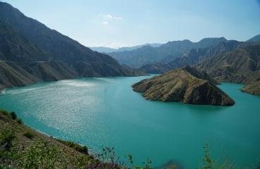 jeziora song kul issyk kul kirgistan