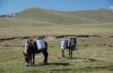 zwiedzamy Kirgistan na motocyklu