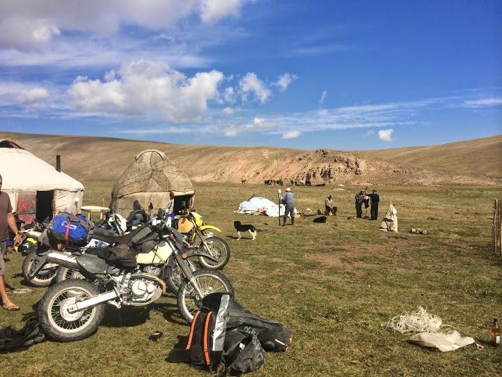 wyprawa motocyklowa Kirgistan