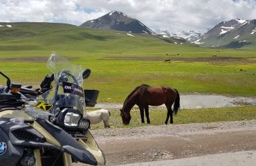 Wynajem motocykli Gruzja, Kirgistan