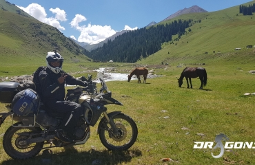 yourt camp, Motorcycle tours Kyrgyzstan biszkek rent a motorcycle travel asia pamir highway silk road tajikistan, kazachstan