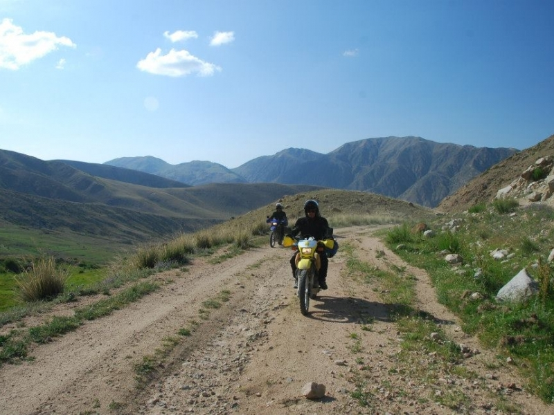 Kyrgyzstan travels motorcycles