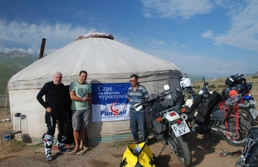 Funsail in Kyrgyzstan, motorbikes and UTV tours to Kyrgyzstan and Kazakhstan