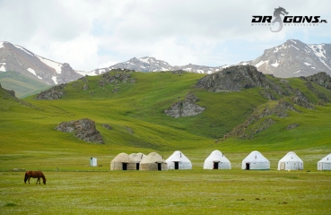 kirgizja azja tadzykistan jurty