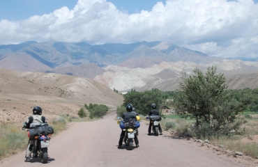 A motorcycle trip to kyrgyzstan, quad kirgistan expeditions