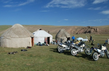 Traditional yurt in Kyrgyzstan, off-road trips, quad rental and UTV Kyrgyzstan