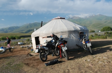 Motorbike tours of Kyrgyzstan, UTV tours and quads