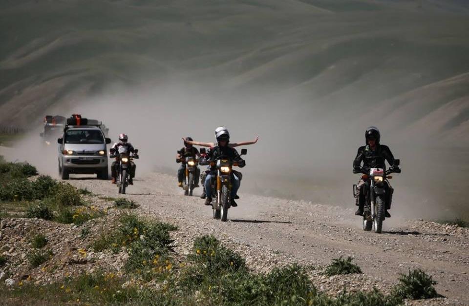 Kirgizja w 10 dni -  motocykle dla podróżników