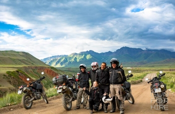 Kirgizja -  motocykle dla podróżników 2018