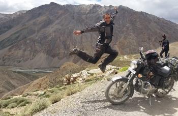 Nepal wyprawa motocyklowa, motocykle Azja