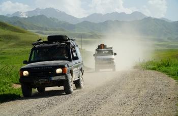 Asia tour: Kirgistan, Tadżykistan, Uzbekistan 4x4 - wyprawa samochodami terenowymi 14 dni