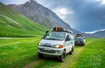 Bezdroża Kirgistanu na czterech kołach - wyprawa 4x4, 8 dniowa