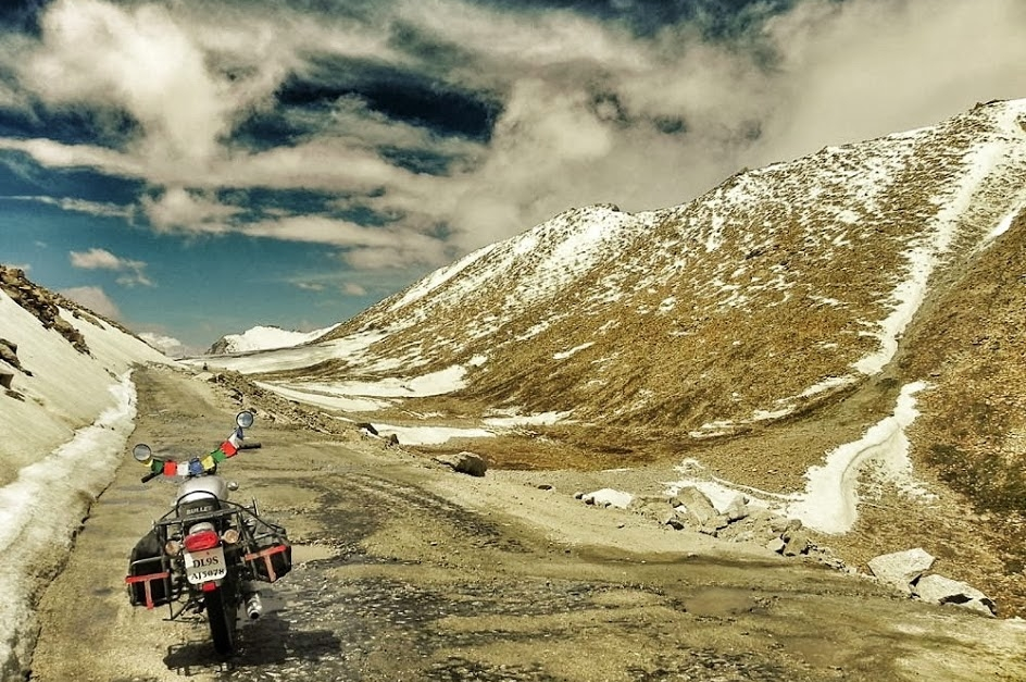 Manali - Leh najwyższe przełęcze. Wyprawa w Himalaje na motocyklu - 14 dni